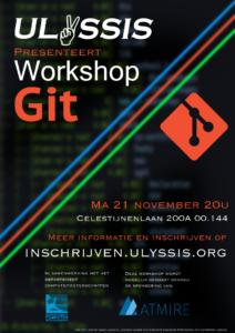 Workshop Git Poster